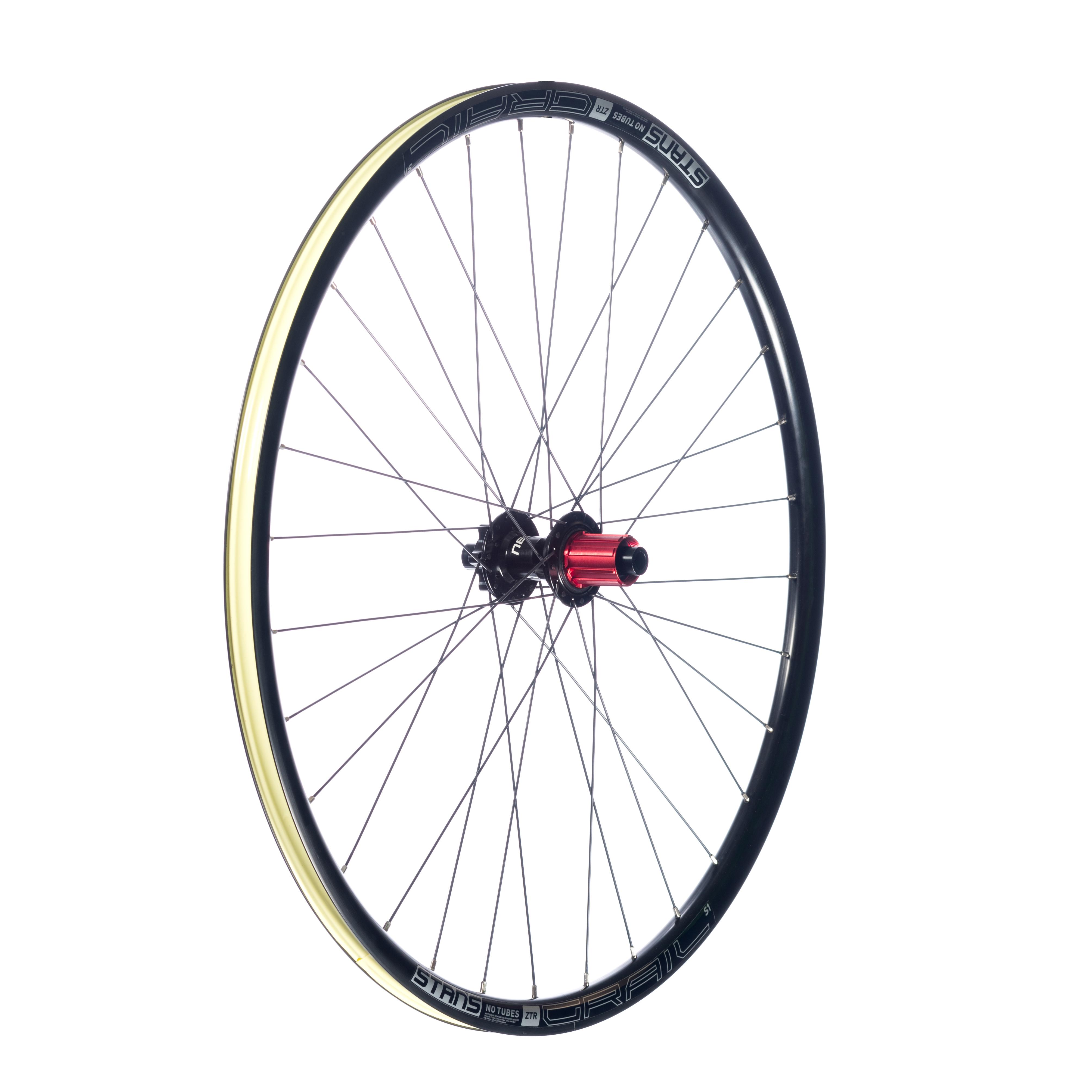 Stan/'s NoTubes Cyclocross Rim Strip 44mm Presta Valve For 700C Wheels New